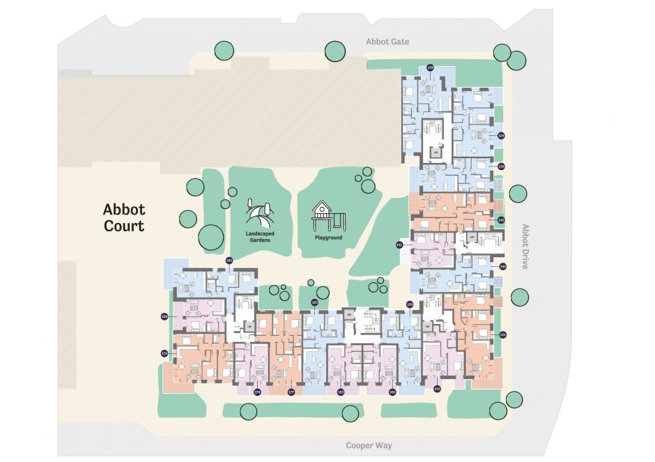 Occu Abbot floorplan first floor