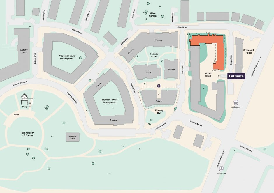 Occu Abbot site map