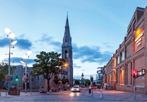 Dun Laoghaire centre