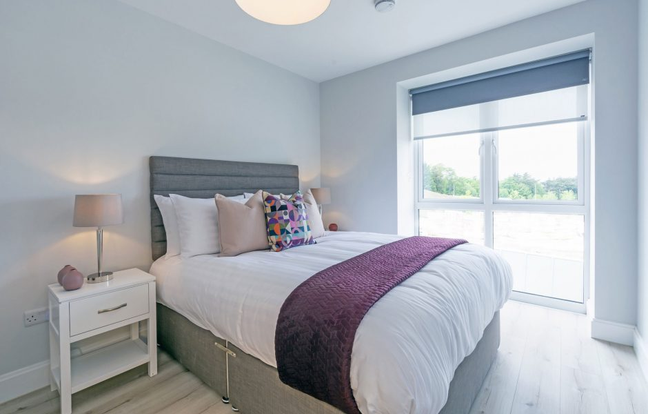 Double bedroom at Occu fairway