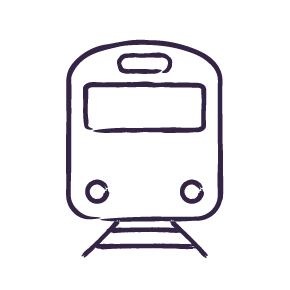 Train (from Adamstown)
